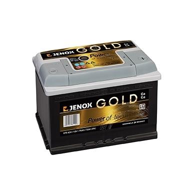 Akumuliatorius JENOX GOLD 52AH 520A