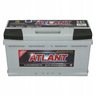 AKUMULIATORIUS ATLANT 12V 100 Ah 960 A 2