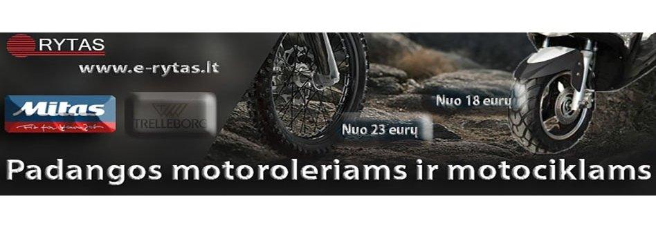 Padangos motociklams ir motoroleriams